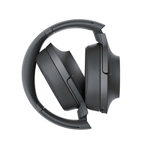 Sony WH-H900N h.ear Series Wireless Over-Ear Noise Cancelling High Resolution Headphones with Gesture control, 24 Hours Battery Life - Black Img 4 Zoom