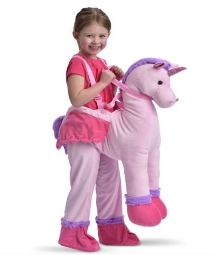 New Magical Pink Unicorn Girls Fancy Dress Outfit Dressing Up Costume Age 3-7 Years by Fairy Tale