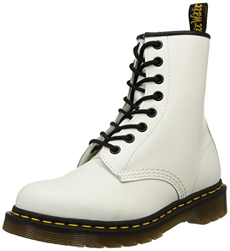 Dr. Martens 1460 Smooth, Scarpe Stringate Basse Brogue Unisex - Adulto, Nero (1460 Smooth 59 Last Black), 40 EU