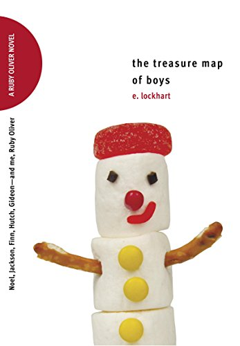 The Treasure Map of Boys: Noel, Jackson, Finn, Hutch, Gideon--and Me, Ruby Oliver (Ruby Oliver Quartet Book 3) (English Edition) (Hutch Childs)