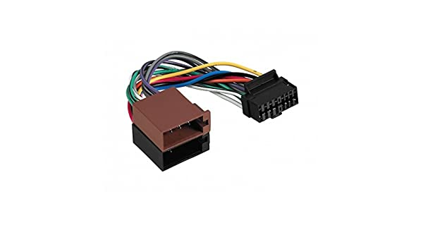 Cable Car Radio ISO Adapter for Aiwa - 16 Pin Connector ... on