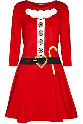 Star Fashion Oops Outlet Damen Frauen Weihnachten Liebe -