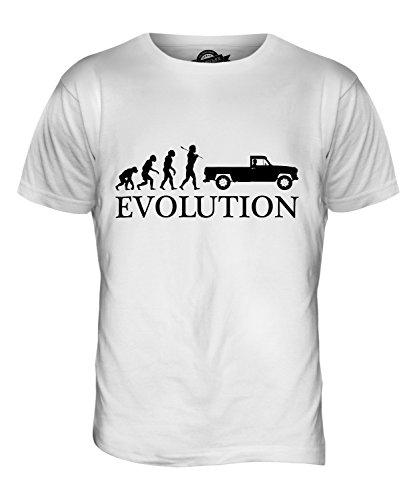 CandyMix Pick Up Evolution Des Menschen Herren T Shirt Weiß