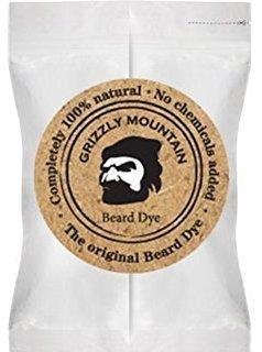 Grizzly Mountain Natural Beard Dye für Bart und Schnurrbart (hellbraun) (Hellbraune Bart Färben)