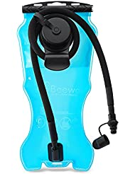 BEEWAY® - Bolsa de hidratación, 2 o 3 litros, con depósito de agua, compatible con mochila con sistema de hidratación, ideal para ciclismo, escalada, senderismo, running, sin BPA, aprobado por la FDA, Blue - 3 Liter