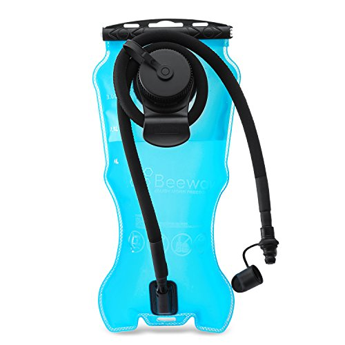 Beeway® Hydration Bladder 2 Liter/ 3 Litres Water Reservoir Pack suitable for Hydration System Backpack Bag, idea for Outdoor Cycling Climbing Hiking Running (BPA Free FDA Approved)