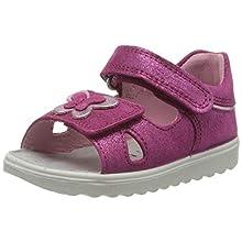 Superfit Baby Girls' Lettie Sandals, Pink (Rosa/Rosa 55), 7 UK