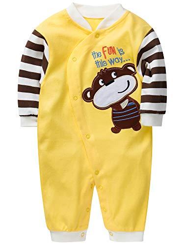 SANMIO SANMIO Baby Strampler Spielanzug Jungen Mädchen Schlafanzug Baumwolle Langarm Overalls Säugling Romper Baby-Nachtwäsche