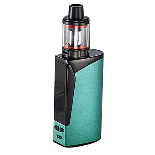 Yeleo trosetry sigaretta elettronica, 100w box mod 2000mah batteria, top refill 4ml atomizzatore sigaretta elettronica, 0,3ohm resistenza batteria, senza nicotina(verde)