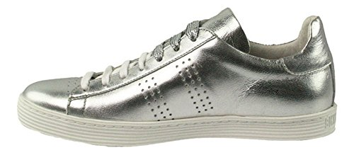 BIKKEMBERGS Damen Words 889 Sneaker Silber