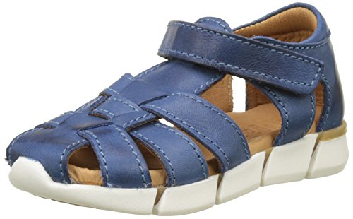 Bisgaard 70267117, Sandales Bout Fermé Mixte Enfant Bleu (601-2 Sea)