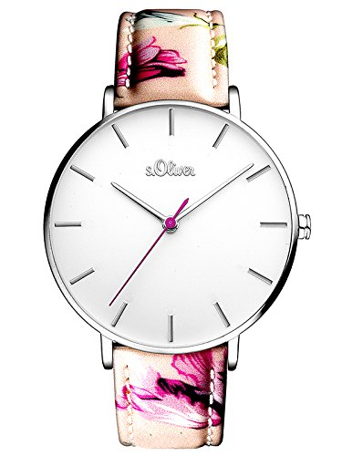 s.Oliver Damen-Armbanduhr SO-3465-LQ