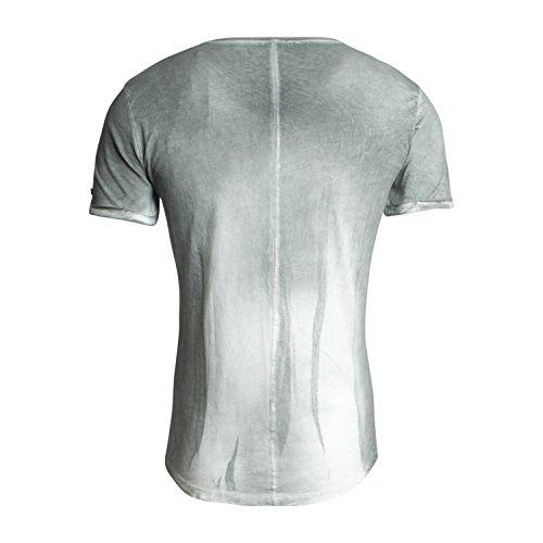 T-Shirt MT RUST für Herren - von Key Largo - in zwei Farben - Frühling-Sommer 2017 - Outdoor - Freizeit - Casual T-Shirt Mil.green