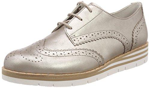 Gabor Shoes Damen Comfort Sport Derbys, Beige (Muschel (S.Nieten)), 43 EU