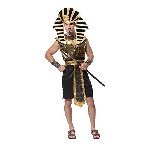 Sea Hare Männer ägyptischen Pharao Kostüm (Ägyptischen Kostüm Männer)