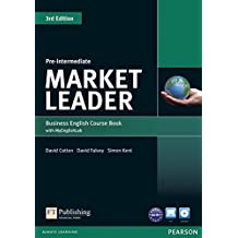 Market Leader  Pre-Intermediate Coursebook (with DVD-ROM incl. Class Audio) & MyLab
