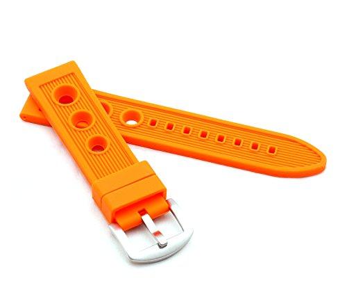 Uhrenarmband Modell Racing 20 mm orange ()