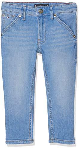 Tommy Hilfiger Baby-Jungen Jeans Carpenter Straight AVBBST, Blau (Avenue Bright Blue Stretch 911), (Herstellergröße: 92) Carpenter Denim Blue Jeans