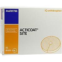 ACTICOAT Site Kompr.2,5 cm Scheibe m.4 mm Loch 10 St Kompressen preisvergleich bei billige-tabletten.eu