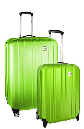 Roncato Trolley Koffer-Set, 70 liters, Grün (Lime)