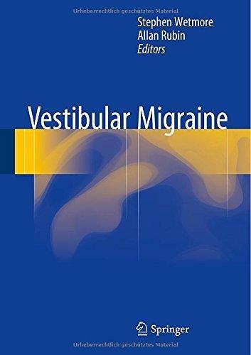 Vestibular Migraine by Springer (2015-02-10)