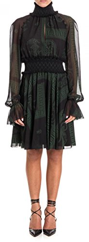 Versace Collection Damen Kleid Black - Green 42