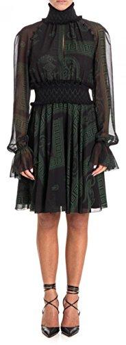 Versace Collection Damen Kleid Black - Green 42
