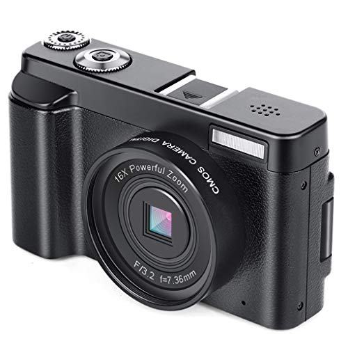 WOB Digitalkamera,3-Zoll-Vollbildmodus | Digitalkamera- und Videofunktion | Integriertes Wi-Fi | HDMI-Steckplatz | Weißabgleich | Zeitgesteuerte Aufnahme (Selbstauslöser) Camcorder