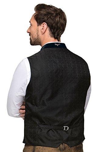 Michaelax-Fashion-Trade Stockerpoint - Herren Trachten Weste in verschiedenen Farben, Alonso, Größe:48, Farbe:Grau-Nachtblau - 3