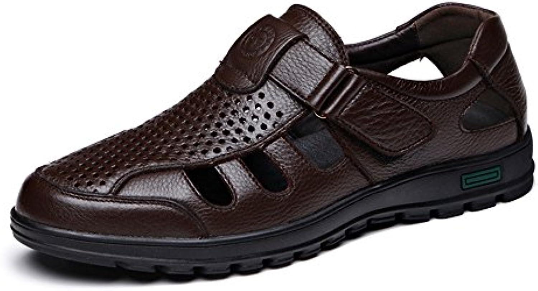 ZX Männer Loafers Schuhe  Breathable Cutting Perforation Rindsleder Obermaterial Slip on weisshe Sohle Loafer für