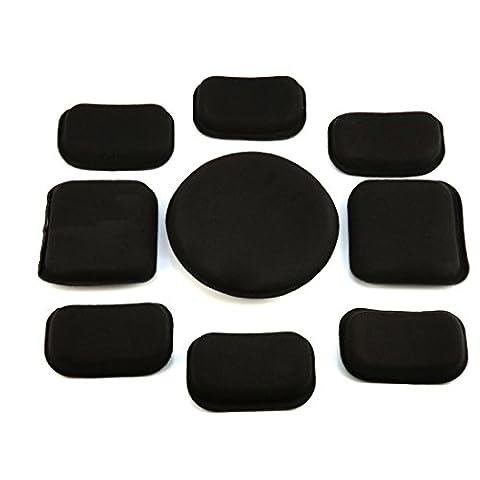 Andux Outdoor Casque Protections Casque Accessoires standard Kit Velcro intérieur EVA Pads Casque Spacers