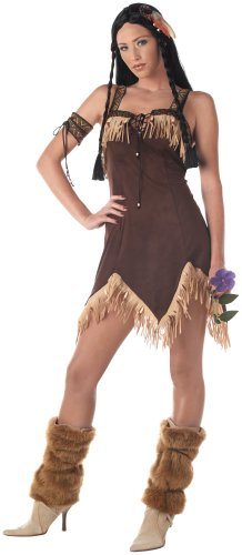 Adult Sexy Indian Princess Costume - ()