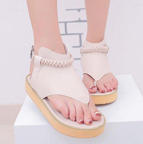 chaussures orteils sandales femme main Clip loisirs sauvages D