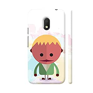 Colorpur Kids Alien Cartoon Artwork On Motorola Moto G4 Play Cover (Designer Mobile Back Case) | Artist: Designer Chennai