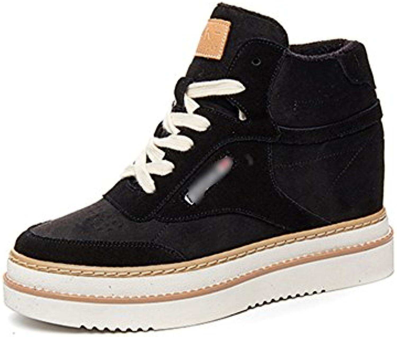 LIANGJUN Bottines Chaussures De Femme Air Baskets Sports De Plein Air Femme Printemps Hiver, 5 Tailles, 2 Couleurs Disponibles...B078THTVC1Parent bafa15