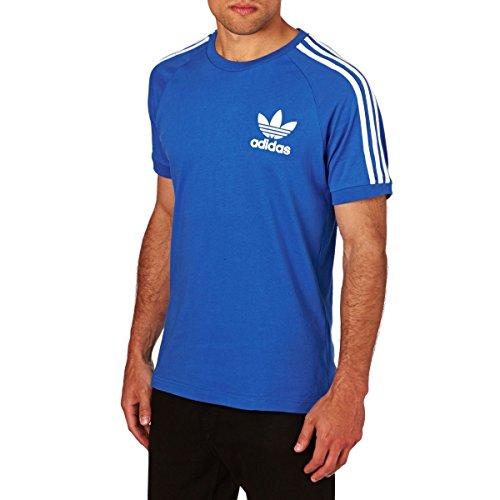 adidas Herren Clfn T-Shirt, Schwarz, M Bluebird
