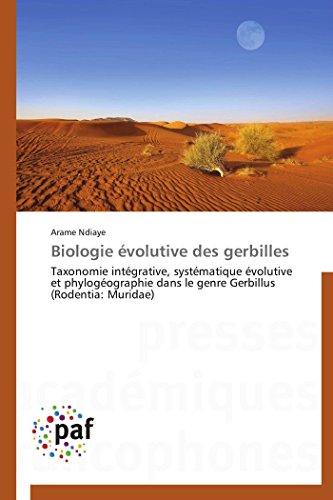 Biologie évolutive des gerbilles