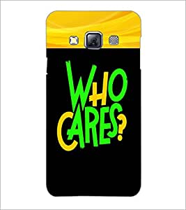PrintDhaba Quote D-2681 Back Case Cover for SAMSUNG GALAXY A3 (Multi-Coloured)