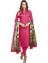Impressed Collection Pink Heavy Jam Cotton With Designer Hand Work Long Stitched Suit