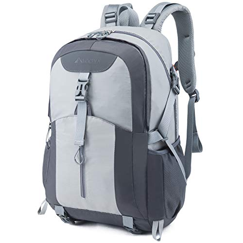 41xfbleHcFL. SS500  - Casual Backpack, Water Resistant Slim Lightweight Laptop Rucksack For Men/Women, Large Travel/Hiking/Cycling Daypacks With Earphone Hole, College/High School Bags For Boys/Girls -32L, Grey