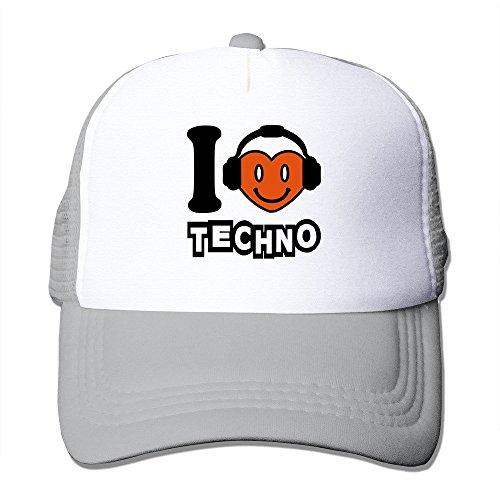 Feruch Custom Your Own Adult Unisex Techno 100% Nylon Mesh Caps One Size Fits Most Adjustable Hat Ash Custom-fit-mesh-cap