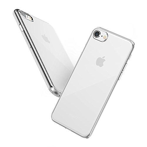 Moshi Superskin für iPhone 8 / 7 - Extrem dünne Premium Handyhülle - Kristallklar - Moshi I Phone 5