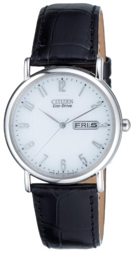 Citizen Herren-Armbanduhr Analog Quarz Edelstahl BM8241-01BE