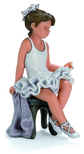 Nadal Figura Decorativa un pequeño Descanso, Resina, 8.00x8.50x15.00 cm