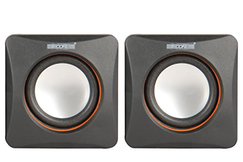 5 Core SPK-21 USB powered multimedia speaker for computers, mobile phones, laptops with 3.5mm jack, high quality speaker with soundbass powered with 2 W X 2 RMS speakers  available at amazon for Rs.299