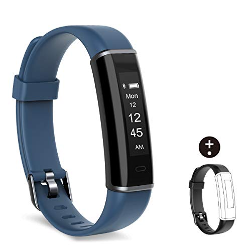 Shinmax Fitness Armband,Fitness Tracker mit Pulsmesser Schlaf-Monitor,Wasserdicht (Fitness-tracker-hr-monitor)