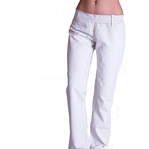 Bray Steve Alan Bsa -  Pantaloni  - Donna Bianco Bianco 44