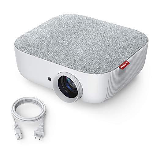 Nebula Prizm Beamer, Multimedia Projektor mit 480P LCD Bildqualität, 500 Lumen / 100 ANSI Lumen, 40-100 Zoll Bild, Aux-Out für Filme, Videos usw. (Aktualisierte Version)