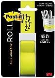 3M Post-It Rouleau d'adhésif intégral 25,4 mm x 10,1 m Vert