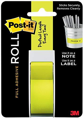 Post-It Full Adhesive Roll 1'X400'-Green